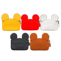 【COACH】Disney聯名款 米奇造型手拿包(多色可選)