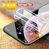 21D ฟิล์ม Hydrogel Soft สำหรับ Apple iPhone 11 12 Pro XS Max XR Iphone X 7 8 Plus ซิลิโคนป้องกัน TPU ป้องกันหน้าจอไม่ใช่แก้ว