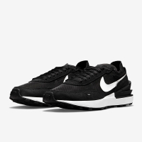 【NIKE 耐吉】W NIKE WAFFLE ONE 女款 黑白 休閒鞋 運動鞋 慢跑鞋(DC2533001)