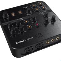 [直播錄音設備]Sound Blaster K3高清外置K歌音效聲卡 創新k3 手機直播 usb音效卡 台中市歡迎前來