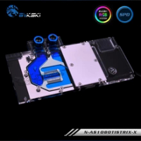 Bykski Graphics Card Water Block use for ASUS ROG-STRIX-GTX1080TI-O11G-GAMING/1080/1070-O8G-GAMING/1070TI Full Cover Radiator