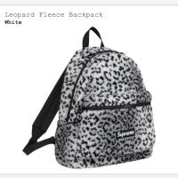 【Ting Store】supreme Leopard Fleece 後背包 白虎紋