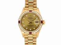 ROLEX錶 勞力士 69178 女錶 18黃K金 日誌系列 編號Q080226R