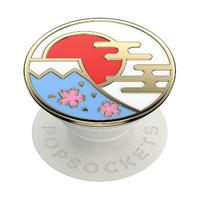 【PopSockets 泡泡騷】時尚手機氣囊伸縮支架 二代 可替換 美國 No.1(富士山)