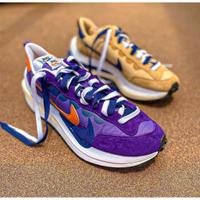 免運 正品 Sacai x Nike VaporWaffle 卡其棕 紫色 解構 DD1875-200/500