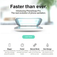2倍速! 專業款 美國PhoneSoap Pro手機UV殺菌消毒器 Galaxy Note10 S10 S20