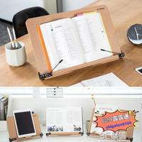 韓國SYSMAX便攜桌面木質閱讀架支學生成人夾書器讀書架看書架   時光店  娜娜小屋  娜娜小屋