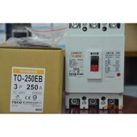 TECO 東元 NFB TO-250EB 無熔線斷路器 3P 250A 斷路器、無熔絲開關