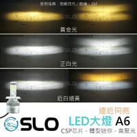 【二代 A6 LED大燈】 H4 HS1 車大燈 機車大燈 帶驅動 many 雷霆 Smax 勁戰 JPUPU 鈦星