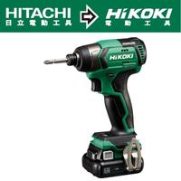【HIKOKI】12V充電式無刷衝擊起子機-雙電4.0AH(WH12DD)