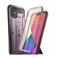 [9美國直購] SUPCASE Unicorn Beetle Pro系列保護殼 for iPhone 12 Mini(5.4吋) 黑/藍綠/紫 三色