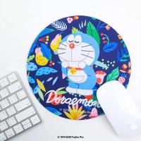 哆啦A夢 花草(藍)款辦公滑鼠墊│murmur萬用墊推薦│台灣製 MP011