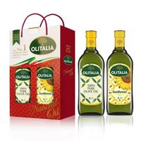 奧利塔 葵花油橄欖油1L雙入組(1Lx2瓶/盒) [大買家]