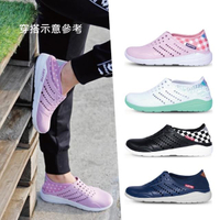 【LOTTO】男女 洞洞鞋 浮潛鞋 水陸鞋 晴雨鞋(11色任選)