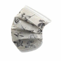 【Treasure Mask 無藏生醫】奶茶色_高雅 / 三層防護口罩5入裝(設計口罩/彩色口罩)