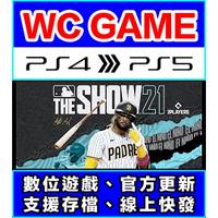 【WC電玩】PS4 PS5 英文 MLB 21 The Show(隨身版 / 認證版)數位下載 無光碟非序號