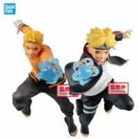 in stock original banpresto NARUTO anime figure VIBRATION STARS Uzumaki Naruto Boruto Action Figure model Collectible toy