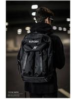 【加賀皮件】SUMDEX 大容量 運動登山包 15.6吋 筆電背包 黑色 後背包 TX5002