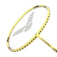 【VICTOR 勝利體育】神速穿線拍-4U-羽毛球 羽球拍 訓練 勝利 馬卡龍黃(ARS3100E-4U)