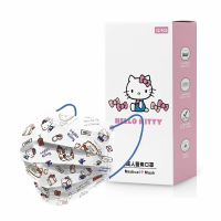 【南六】成人醫用口罩-HELLO KITTY 旅遊風(12入/盒)