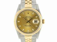 勞力士錶 16233 G面 中金 36MM
