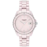 【COACH】經典C字LOGO陶瓷腕錶-32mm/粉(14503806)