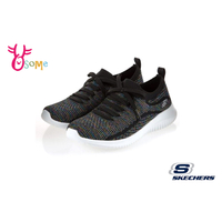Skechers ULTRA FLEX 成人女款 套入式 假蝴蝶結 運動鞋 健走鞋 S8219#黑色 奧森