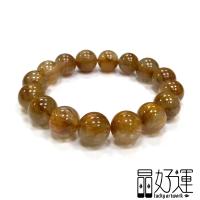 【晶好運】大咪清透全順絲貓眼紅銅鈦手珠(BB-149/現貨)