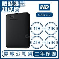 WD Elements 1TB 2TB 4TB 5TB 2.5吋 行動硬碟 隨身硬碟 外接式硬碟 原廠公司貨 原廠保固 1T 2T 4T 5T