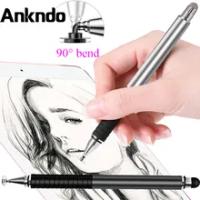 Pena Stylus Universal 2 Dalam 1 Pena Tablet Laptop Pena Ponsel Pintar Pena Layar Sentuh untuk Xiaomi Huawei Samsung Tablet Pensil Gambar