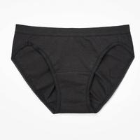 【Wacoal 華歌爾】新伴蒂內褲M-LL超低腰三角款(墨黑色)