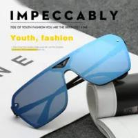2021 Fashion Colored Film Sunglasses Male Female Trend Sunglasses Running Sand Prevention Sports Rider Glass Goggles