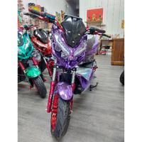 INSKEY_Plated_Shell_ebike_Purple_戰狼_戰狼電動車