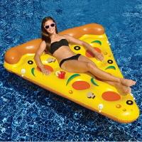 游泳圈充氣救生圈-超大披薩造型加厚水上活動坐騎浮板73ez7【獨家進口】【米蘭精品】