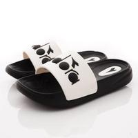 【DIADORA】休閒運動拖鞋 -快(KS7560黑-17-22cm)