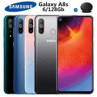 全新未拆SAMSUNG Galaxy A8s 粉色 (6G/128G) 6.4吋雙卡雙待 夢幻主題 全螢幕手機