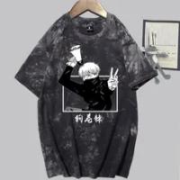 Japanese Anime Jujutsu Kaisen Inumaki Toge T-shirt Short Sleeves Tee Shirt Women