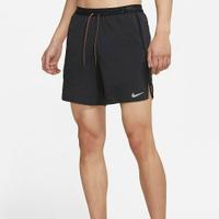 【滿千折百優惠開跑】NIKE 短褲 FLEX DRY 7IN 黑 拼接 口袋 快乾 運動 訓練 短褲 男 (布魯克林) DA0992-010