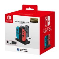 【Nintendo 任天堂】NS Switch 原廠HORI Joy-Con 四手手把控制器充電座(NSW-003)