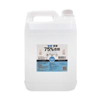 【樂森藥局】派頓 75% 清潔用酒精 4000ML 台灣大廠製造 清潔使用 不需稀釋 可用於雙手 台灣製