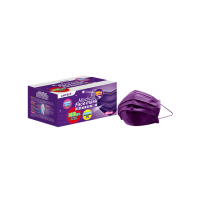 萊潔 醫療防護成人口罩-夜霓紫(50入/盒裝)(衛生用品,恕不退貨,無法接受者勿下單)