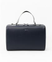 日本代購 現貨 AGNES B 手提 背包 SPEEDY 包 2用包 深藍色 LV MOUSSY SLY 日本
