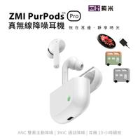 ZMI紫米 PurPods Pro 真無線藍牙5.2降噪耳機TW-100+WTX10無線充電套組+BHT12保護套組合