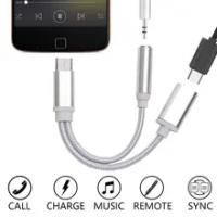 2ใน1อะแดปเตอร์ชาร์จ Lightning ถึง3.5มม.Splitter สำหรับ Apple IPhone XS MAX XR X 7 8 Plus Aux Cable Splitter ในสต็อก