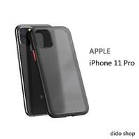 【Didoshop】iPhone11 pro 5.8吋 輕薄磨砂手機殼 手機背蓋(JL205)