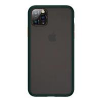 【Benks】iPhone11 Pro Max 6.5吋 防摔膚感手機殼(墨綠)