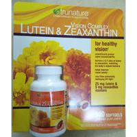 (現貨)TruNature 葉黃素和玉米黃素140粒,每粒葉黃素25mg ,另有銀杏及葡萄籽+白藜蘆醇和輔酶Q10