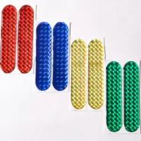 1000pcs Car Door Reflective Sticker Warning Tape Car Reflective Stickers Reflective Strips 4 Colors Safety Mark