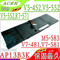 ACER AP13B3K 電池(保固最久)-宏碁 AP13B8K,ES1-512電池,M5-583,M5-583P,R7-571,R7-571G,R7-572電池,R7-572G