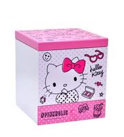 Hello Kitty 美妝化妝鏡盒,置物櫃/收納櫃/收納盒/抽屜收納盒/木製櫃/木製收納櫃/收納箱/桌上收納盒,X射線【C991704】